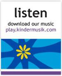 Download your favorite Kindermusik tunes at play.kindermusik.com